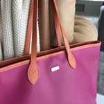 SHOPPING BAG PINK/LARANJA