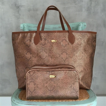 SHOPPING BAG COBRA ROSE