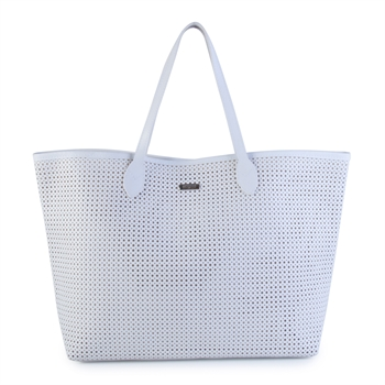 SHOPPING BAG PERFURADA BRANCA (SHB008)