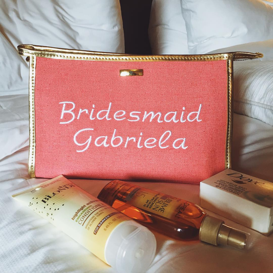 NECESSAIRE BRIDESMAID