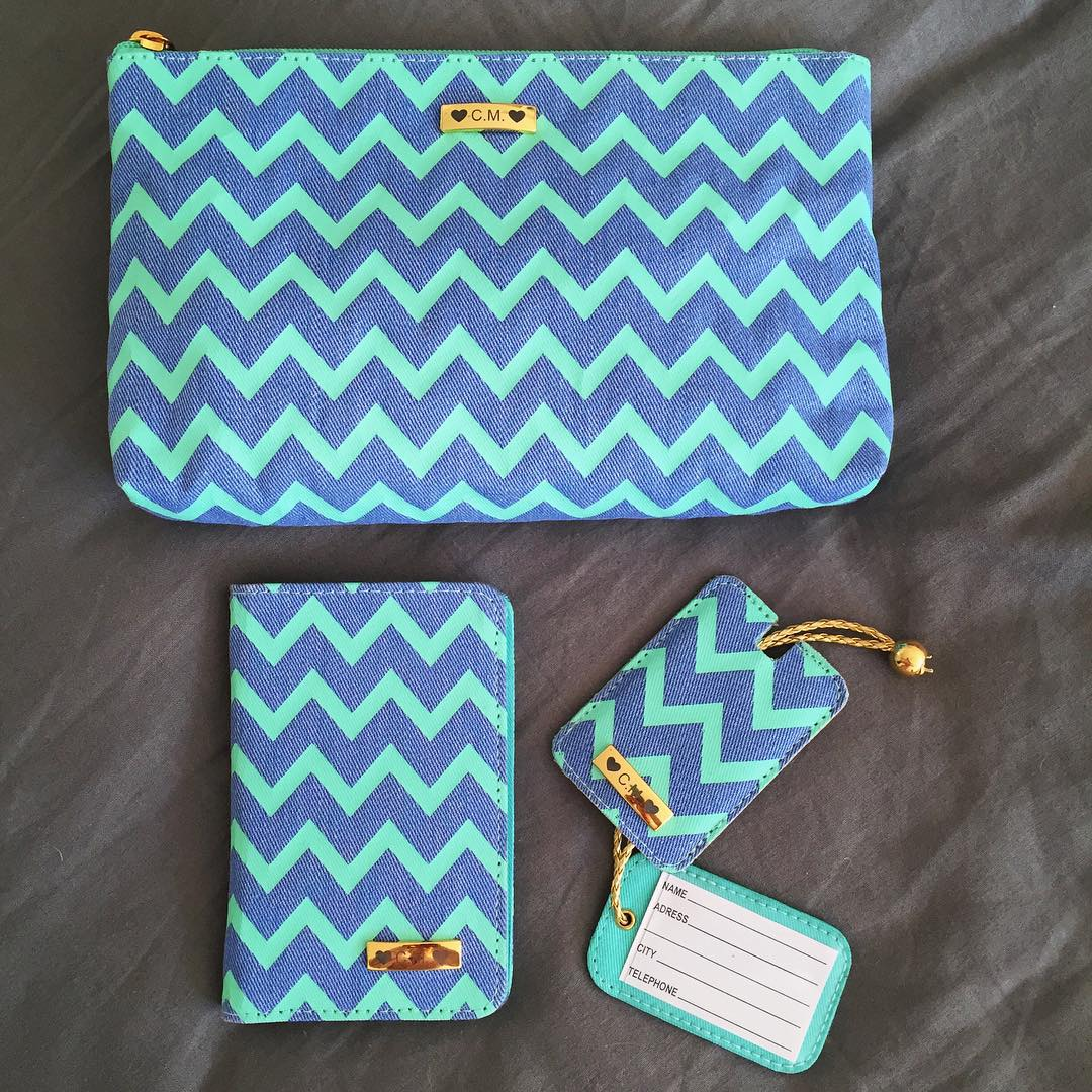 TRAVEL KIT CHEVRON